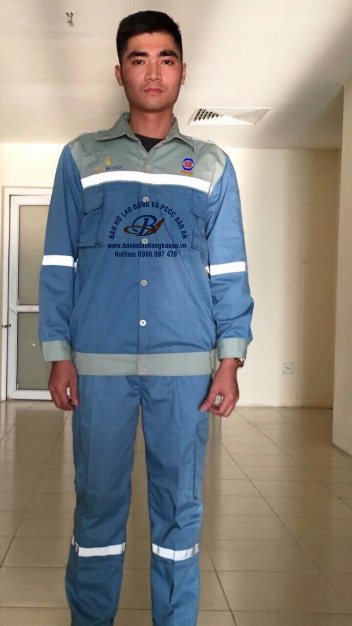 BẢO AN Quần áo công nhân 08 BA 08